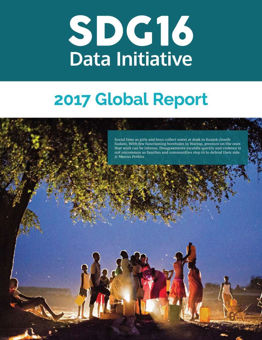 SDG 16 Data Initative Launches Global Report