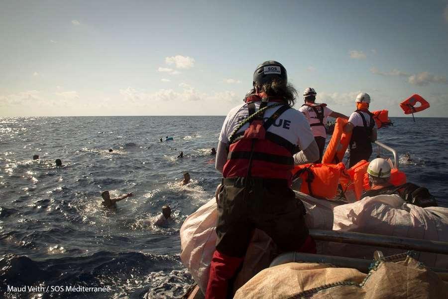 Redningsoperasjoner i Middelhavet: en pull-faktor?
