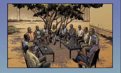 The Uffo Struggle for Justice: Creating Historical Comics on Resistance in Somaliland