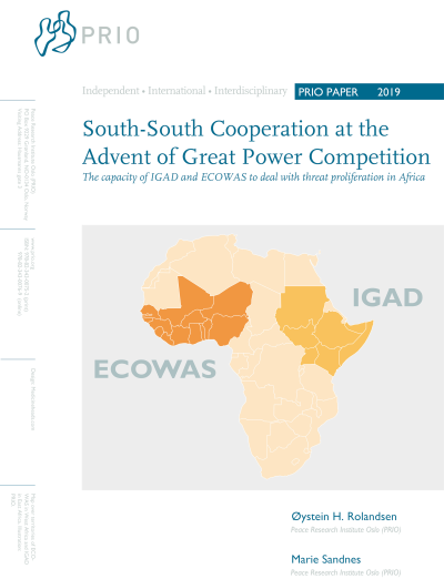 South-South Cooperation at the Advent of Great Power Competition: The Capacity of IGAD and ECOWAS to Deal with Threat Proliferation in Africa