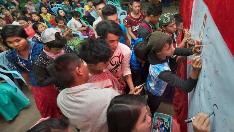 Civil Society Actors in Peace Processes – Experiences from Myanmar