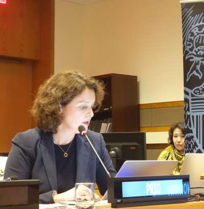Launch of the Second Edition of the Women, Peace and Security Index at the United Nations