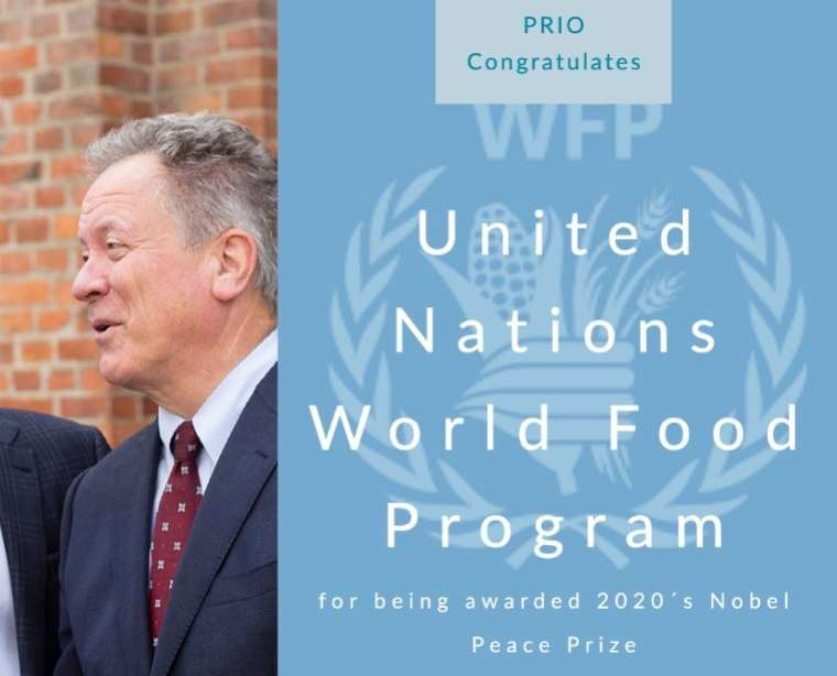 Director Henrik Urdal Celebrates World Food Programme Nobel Win