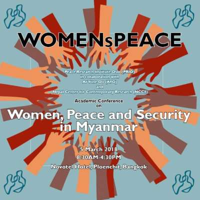 WOMENsPEACE Conference on Women, Peace and Security in Myanmar