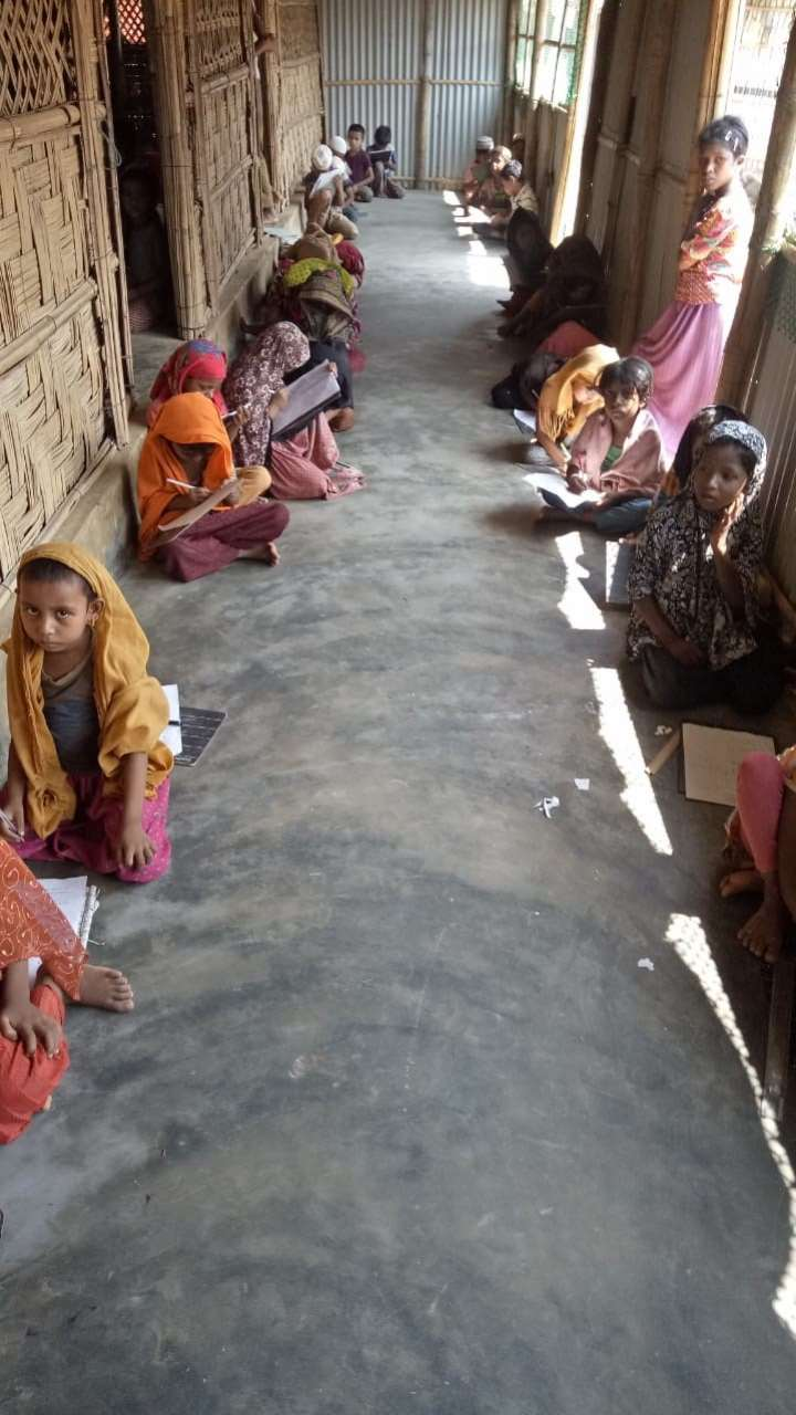 New Report on Community-Led Education in Rohingya Refugee Camps