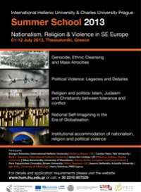 Nationalism, Religion and Violence in South East Europe