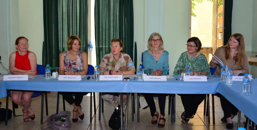 """No backsliding"" on Women's Inclusion in Peace Mediation"