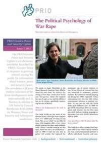 PRIO Gender, Peace and Security Update (Issue 1, 2012)
