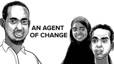 Animated story coming this #RefugeeWeek: 'An Agent Of Change'