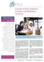 PRIO Gender, Peace and Security Update (Issue 3-2013)