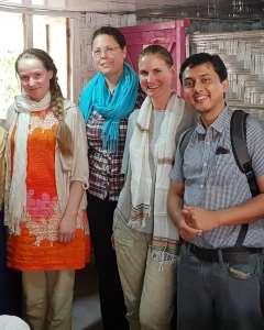 EducAid fieldwork team Bangladesh