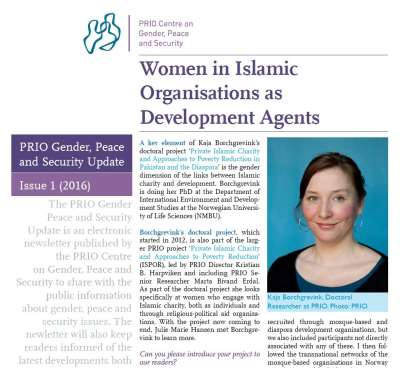 Women Engaging in Islamic Charity as 'Development Agents'