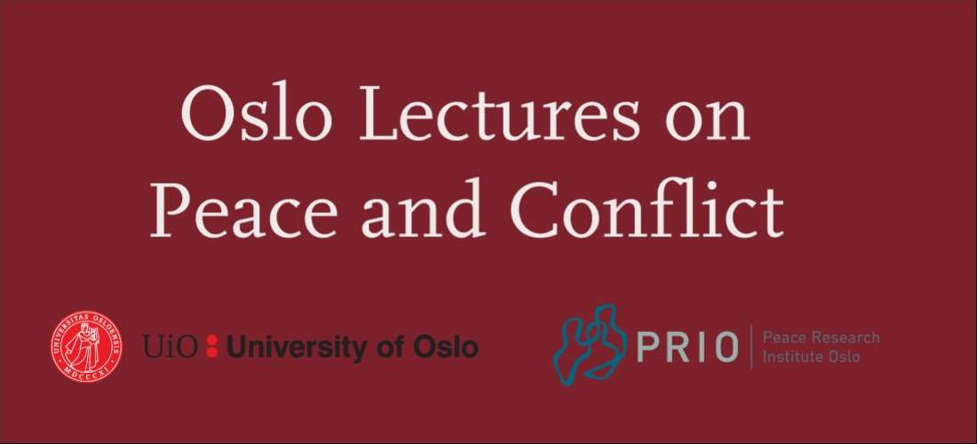 Oslo Lectures on Peace and Conflict