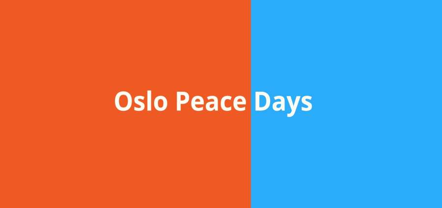 PRIO Joins as Official Partner of Oslo Peace Days 2019