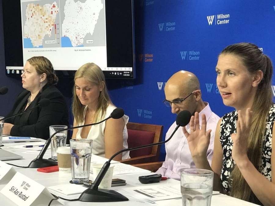 PRIO Co-Hosts Maternal and Child Health Workshop with the Wilson Center, D.C.